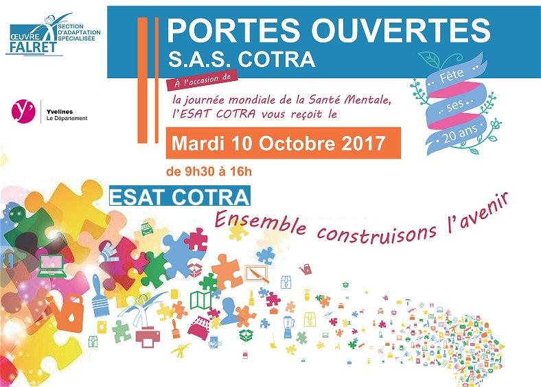 Portes ouvertes Médico-Social ESAT SAS Cotra octobre 2017