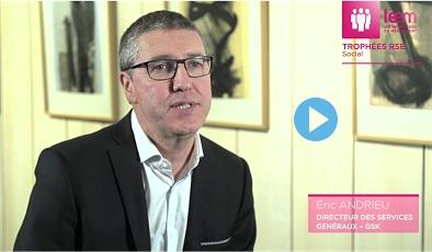 Vidéo GSK et l'Esat Cotra - 2ème édition des Trophées RSE