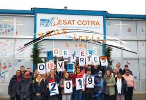 Portes ouvertes de l'ESAT COTRA (78-Yvelines) aux entreprises