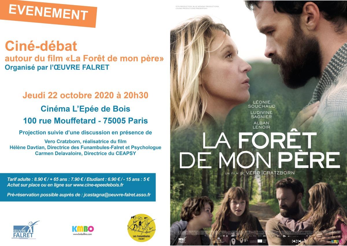 Ciné-débat autour du film la Forêt de mon père Falret